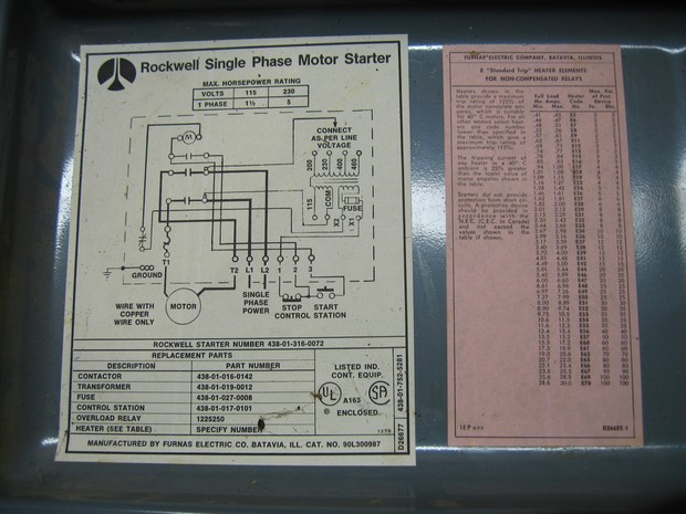 110 Volt Wiring Diagram Breaker Box Unisaw Restoration Thread Woodworking Talk Woodworkers