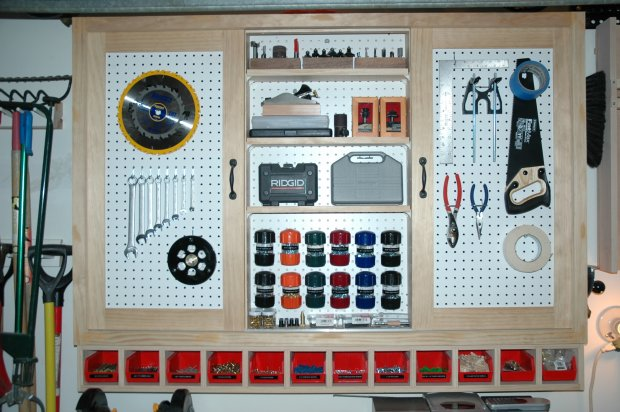 Secure And Small Tool Storage Any Ideas Woodworking
