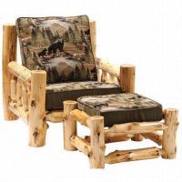 10 Log Furniture Ideas   Woodz