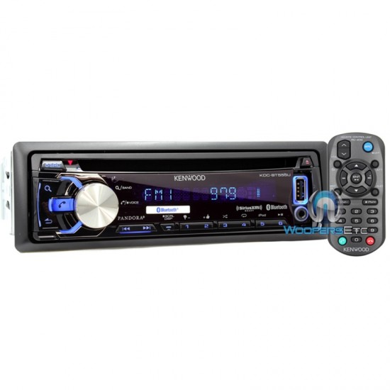 KDC-BT555U - Kenwood In-Dash CD/MP3/USB Car Stereo Receiver