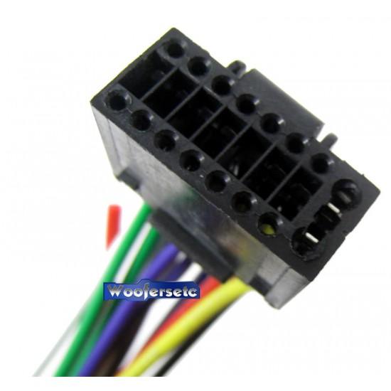 KE-16 - Kenwood 16PIN Wire Harness