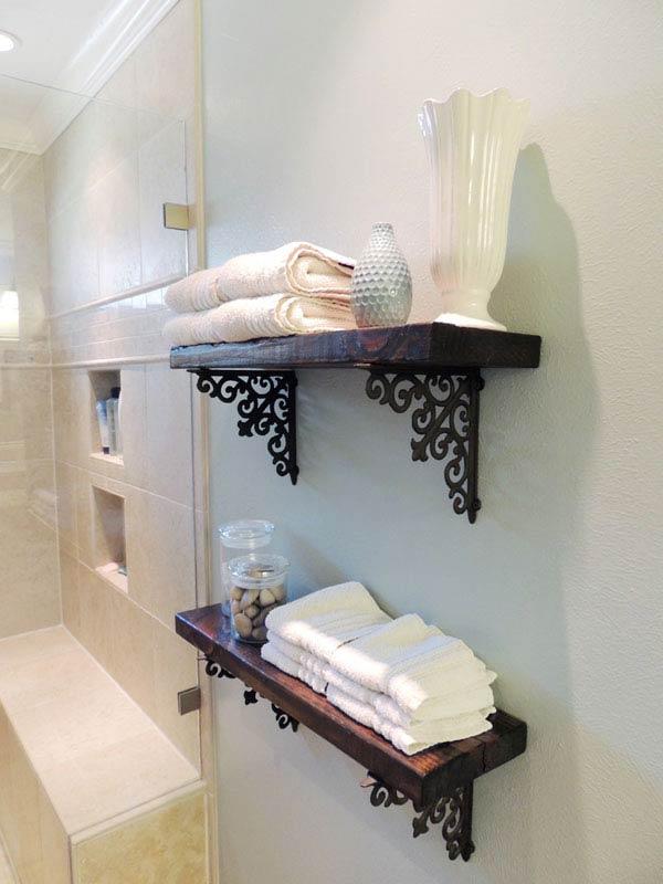 30 Brilliant DIY Bathroom Storage Ideas - Amazing DIY, Interior - bathroom decorating ideas diy