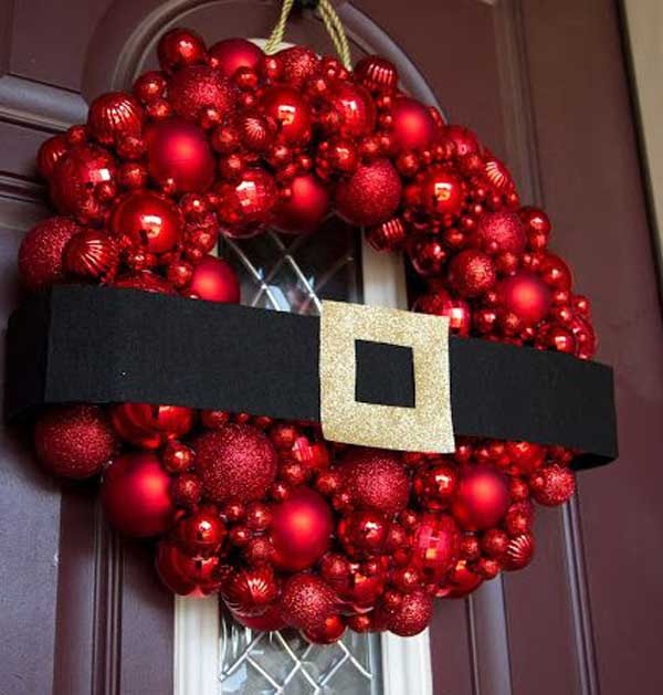Top 35 Astonishing DIY Christmas Wreaths Ideas - Amazing DIY - christmas wreath decorations