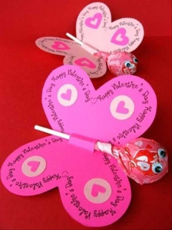 30 Fun and Easy DIY Valentines Day Crafts Kids Can Make - Amazing