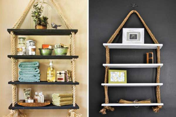 34 Fantastic DIY Home Decor Ideas With Rope - Amazing DIY - craft ideas for the home
