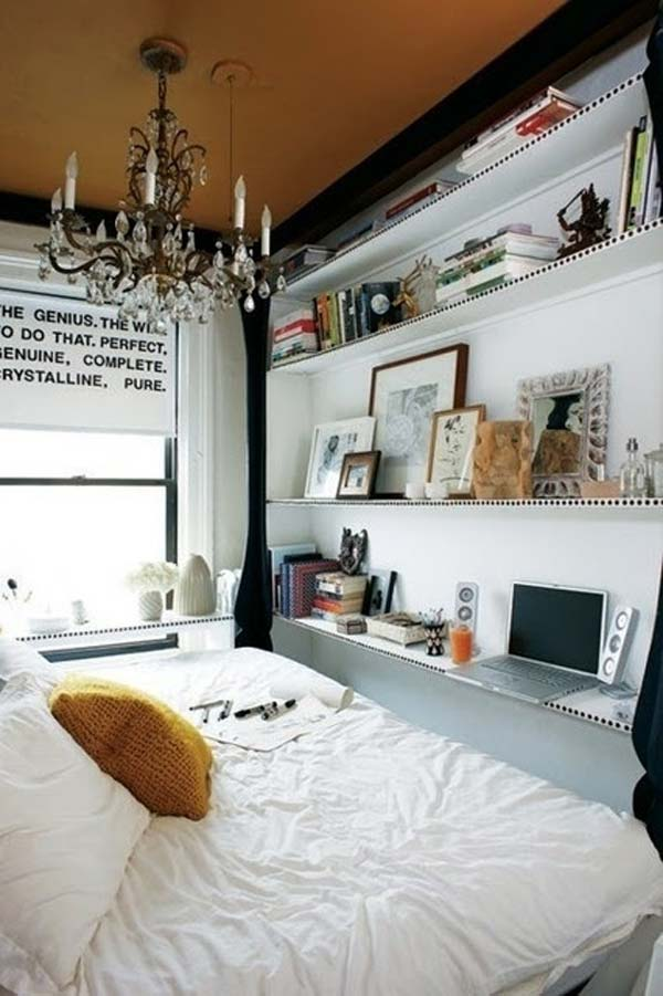 20 Tiny Bedroom Hacks Help You Make the Most of Your Space - tiny bedroom ideas