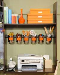 Top 40 Tricks and DIY Projects to Organize Your Office ...