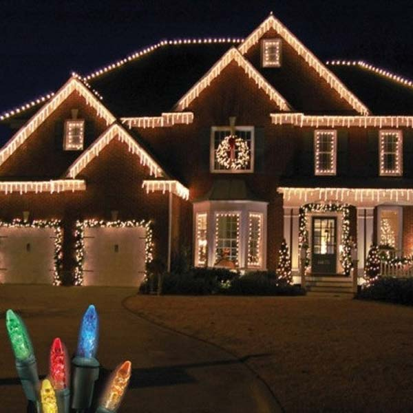 Top 46 Outdoor Christmas Lighting Ideas Illuminate The Holiday - outdoor christmas lights decorations