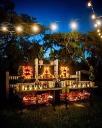 20 Attractive and Unique Outdoor Wedding Bar Ideas ...