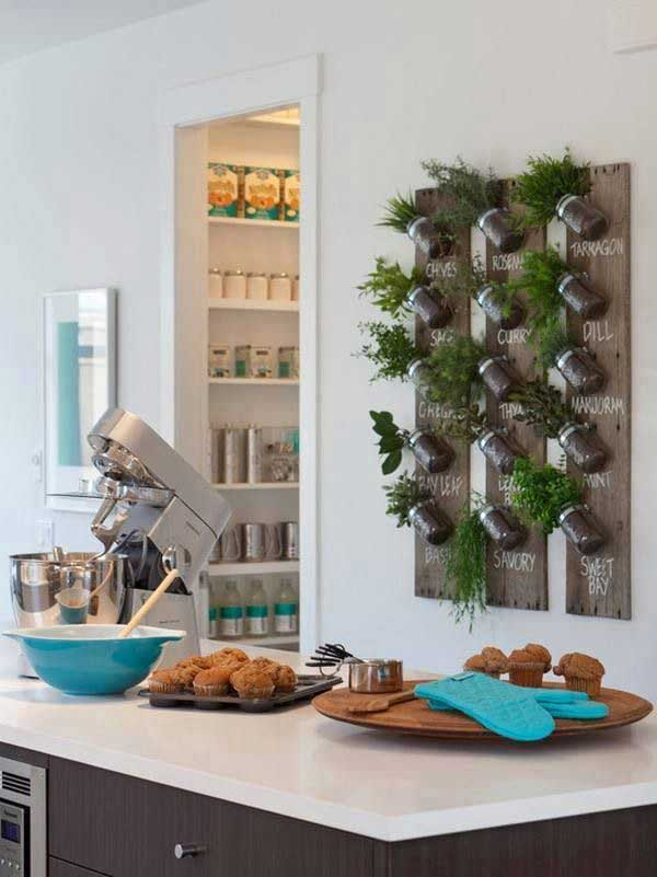 24 Must See Decor Ideas to Make Your Kitchen Wall Looks Amazing - kitchen wall decor ideas
