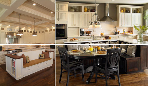 19 Must-See Practical Kitchen Island Designs With Seating - kitchen islands designs