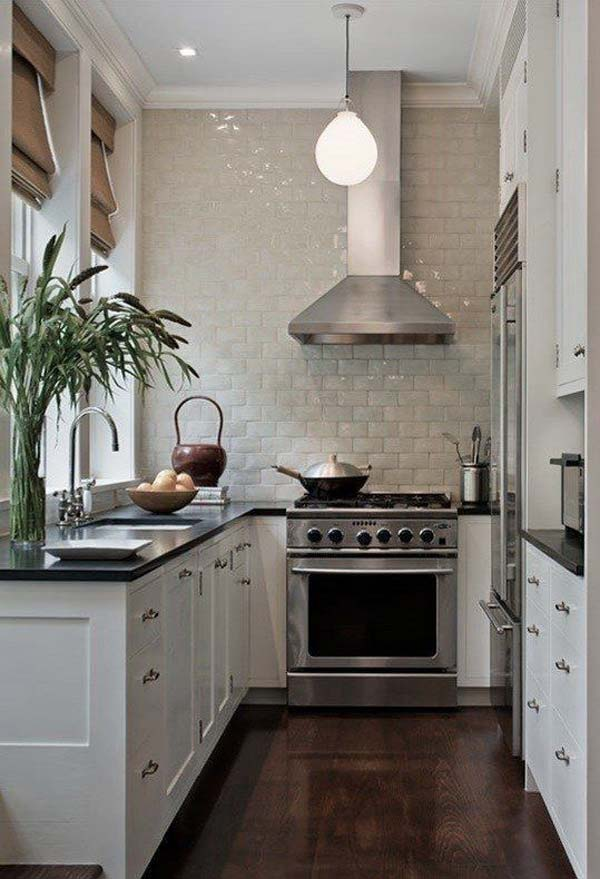 19 Practical U-Shaped Kitchen Designs for Small Spaces - Amazing - u shaped kitchen design