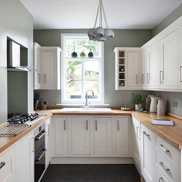 19 Practical U-Shaped Kitchen Designs for Small Spaces - Amazing - small kitchen design layouts