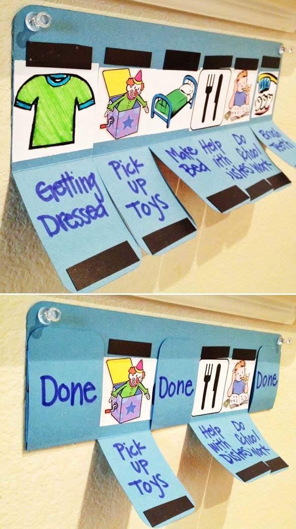 Lovely DIY Chore Charts For Kids - Amazing DIY, Interior  Home Design