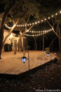 15 DIY Backyard and Patio Lighting Projects - Amazing DIY ...