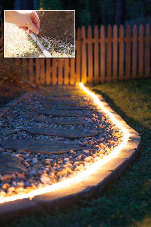 Top 28 Ideas Adding DIY Backyard Lighting for Summer
