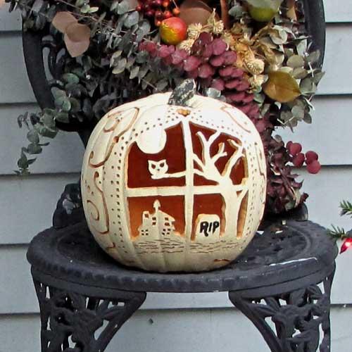 Carving Artificial Pumpkins Woo! Jr Kids Activities
