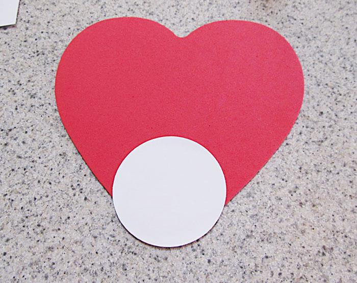 Heart Shaped Ladybug Craft for Valentine\u0027s Day Woo! Jr Kids