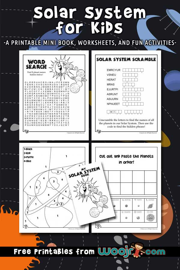 Solar System for Kids Woo! Jr Kids Activities