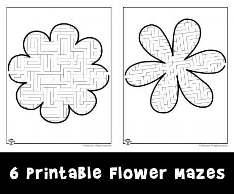 Printable Christmas Mazes Woo! Jr Kids Activities