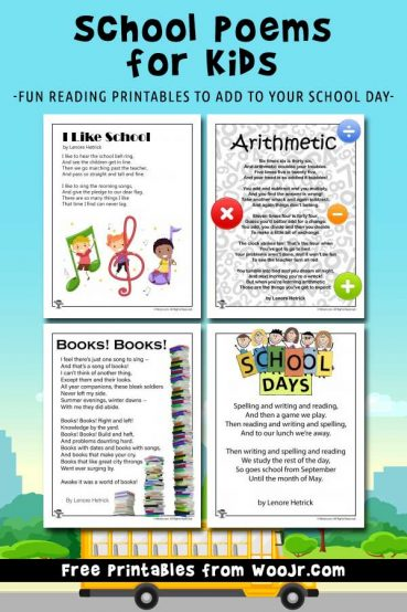 Kid\u0027s Poems Archives Woo! Jr Kids Activities