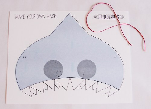 Make Your Own Shark Mask