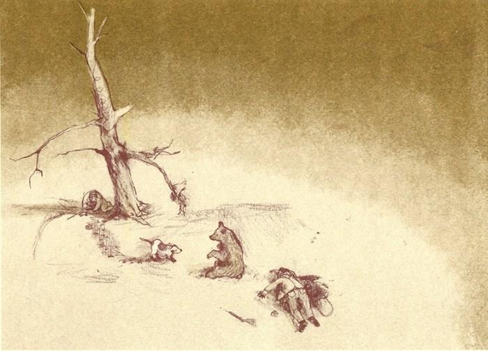 Bear Hunt print