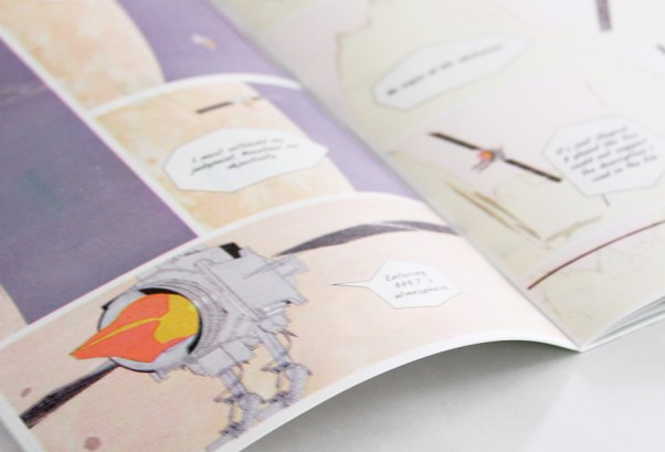 Yonder Gardens By Colin Sutherland risograph Comic Book