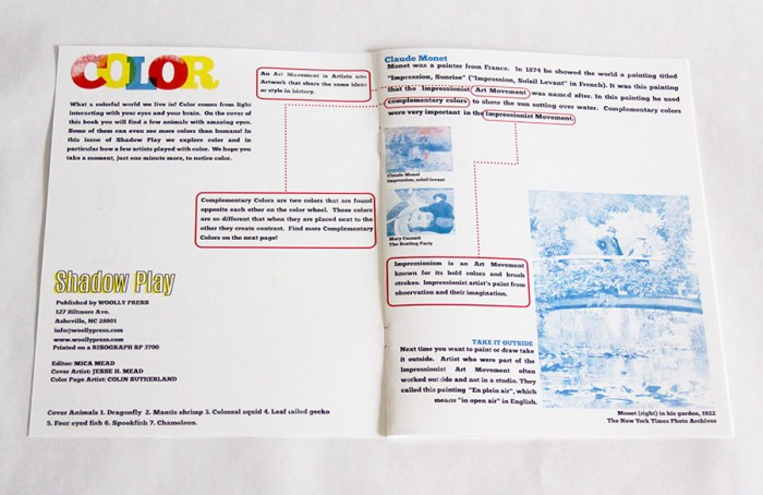 Activity Book for Young Artists