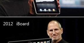 La evolución del iPad evo