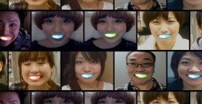 luces leds para dientes