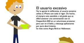 tipos de usuarios del iPhone