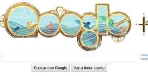 Doodle de Julio Verne