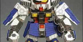 Gundam Rx-papercraft