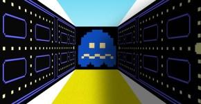 Poster de Pac man en 3D