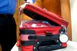 Asegurar maletas que tienen cremallera