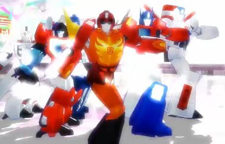 Baile de los Transformers, Thriller Michael Jackson