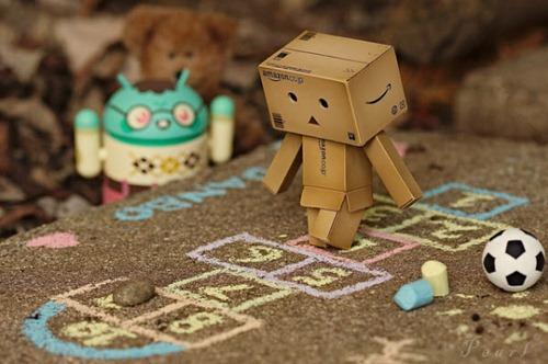 Danbo robot cartón 6