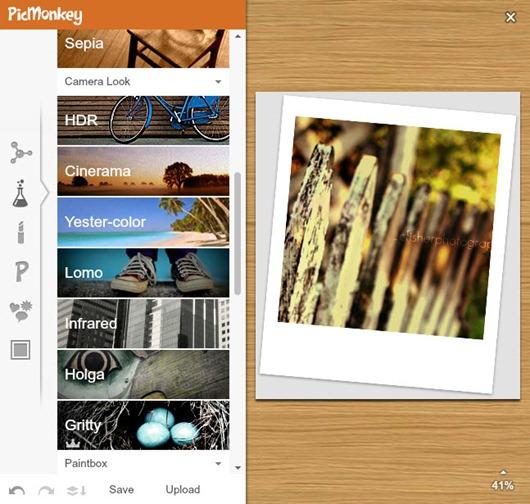 PicMonkey editor de imágenes online