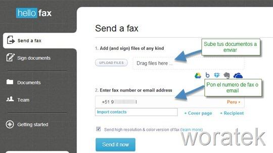 15-12-2012 Enviar fax gratis