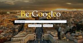 Buscador web inspirado en papa Francisco