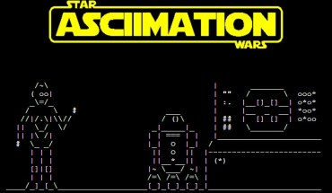 Star Wars en ASCII
