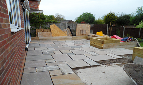 On Going Patio Project In Worcester