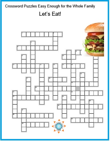 Crossword Puzzles Easy Enough for All Ages!
