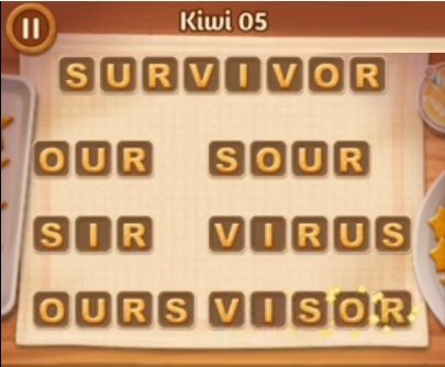 Word Cookies Kiwi Level 5 Answers Word Cookies Answers