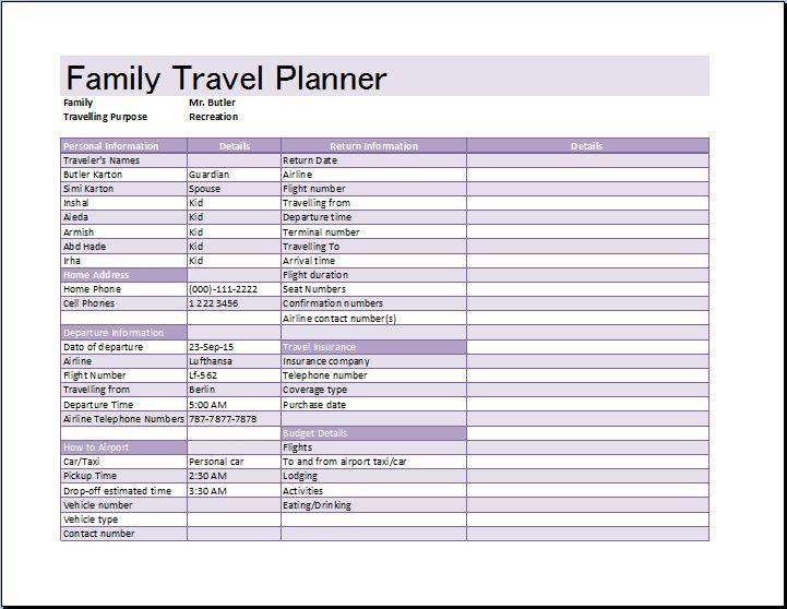 trip schedule template - Goalgoodwinmetals - vacation schedule template
