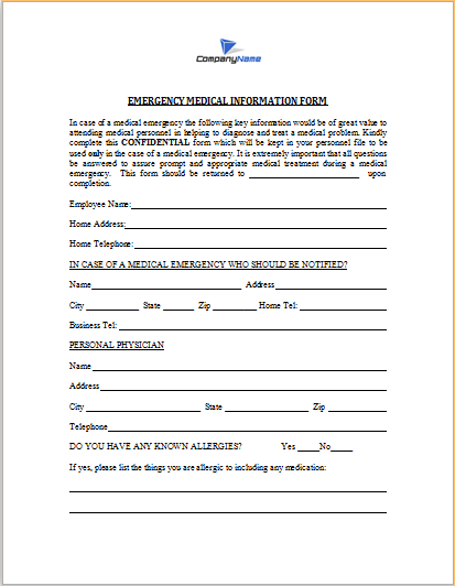 Word Registration Form Template – Registration Form Template Word