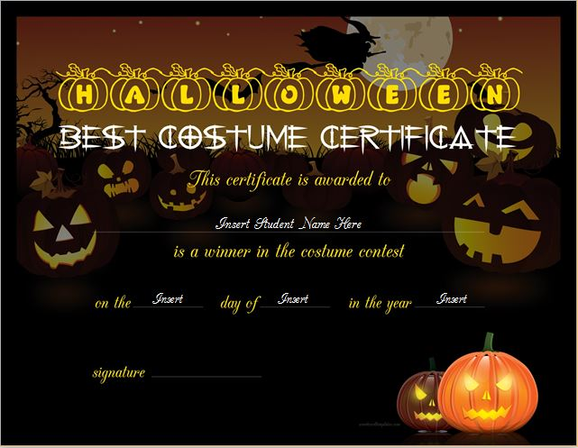 certificate templates for word 2007
