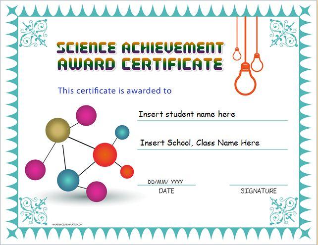 Science Template - Costumepartyrun