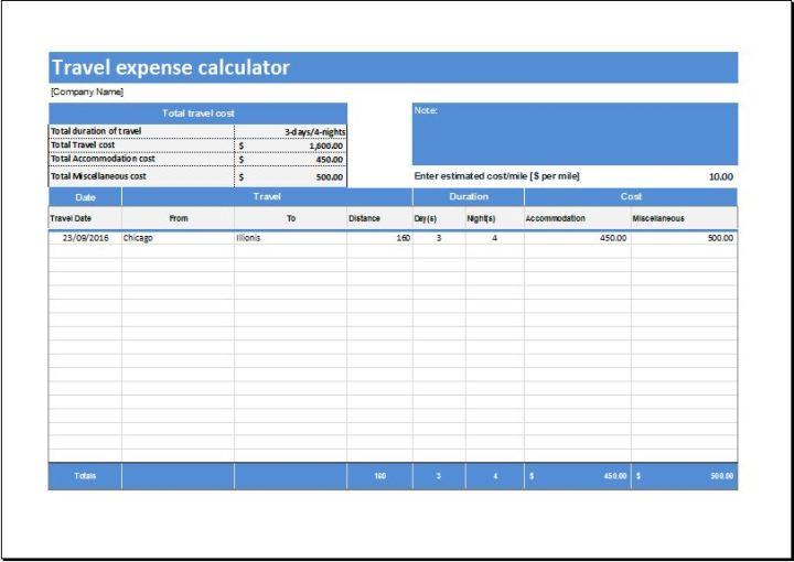 travel claim calculator joshymomo org